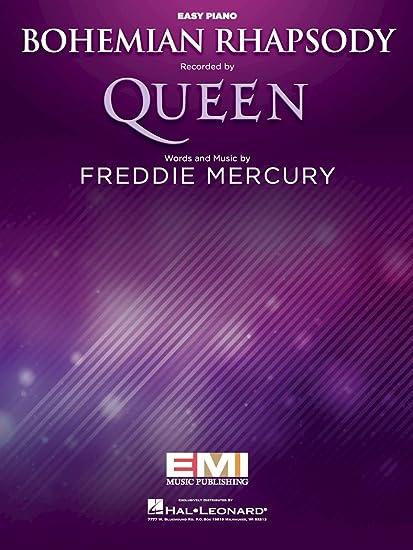 Queen - Bohemian Rhapsody - EASY PIANO Sheet Music Single