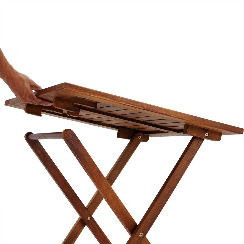 wooden garden dining furniture set folding table chairs set acacia hardwood outdoor amazoncouk garden u0026 outdoors - Folding Table And Chairs