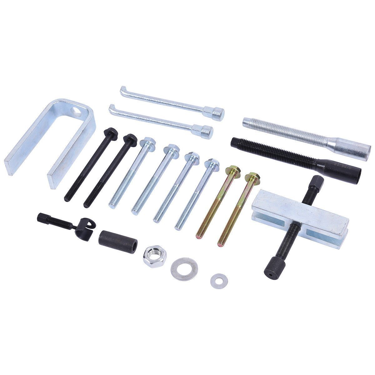 Goplus 19 Pcs Steering Wheel Remover//Lock Plate Compressor Set