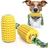 Blppldyci Dog Chew Toys Dog Corn Toys, Dog Puzzle Food Corn Toy for Tough Durable Indestructible Dog Toys for Small Medium Dogs Perfect for Training Cleaning Teeth
