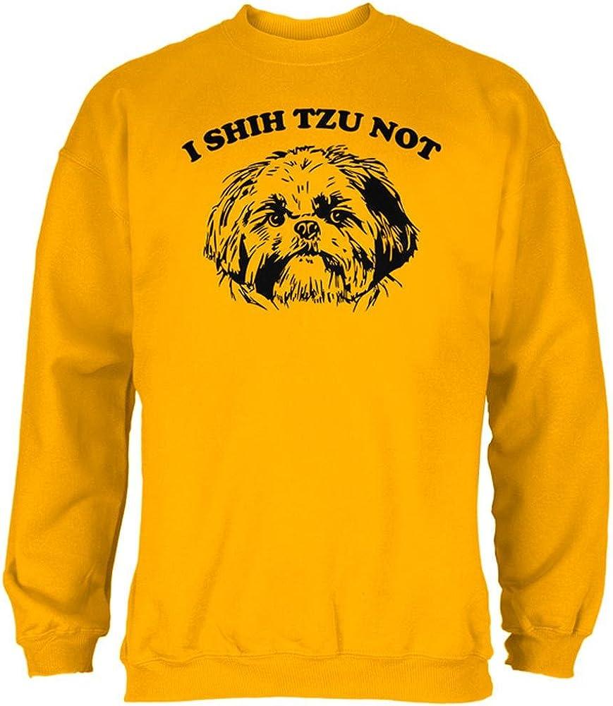 Old Glory I Shih Tzu Not Mens Sweatshirt