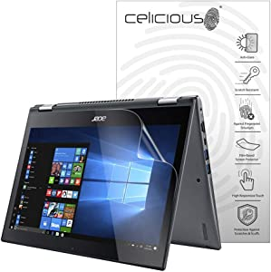 Celicious Matte Anti-Glare Screen Protector Film Compatible with Acer Spin 5 SP513-53N [Pack of 2]