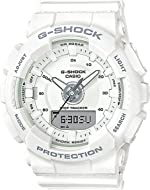 Casio Unisex Watch White Resin G-Shock S Series GMAS130-7A