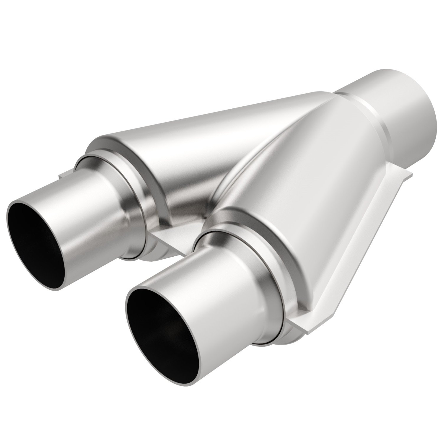 Amazon.com Magnaflow 10758 Stainless Steel 2.5  Exhaust Y-Pipe Automotive  sc 1 st  Amazon.com : exhaust adapter pipe - www.happyfamilyinstitute.com