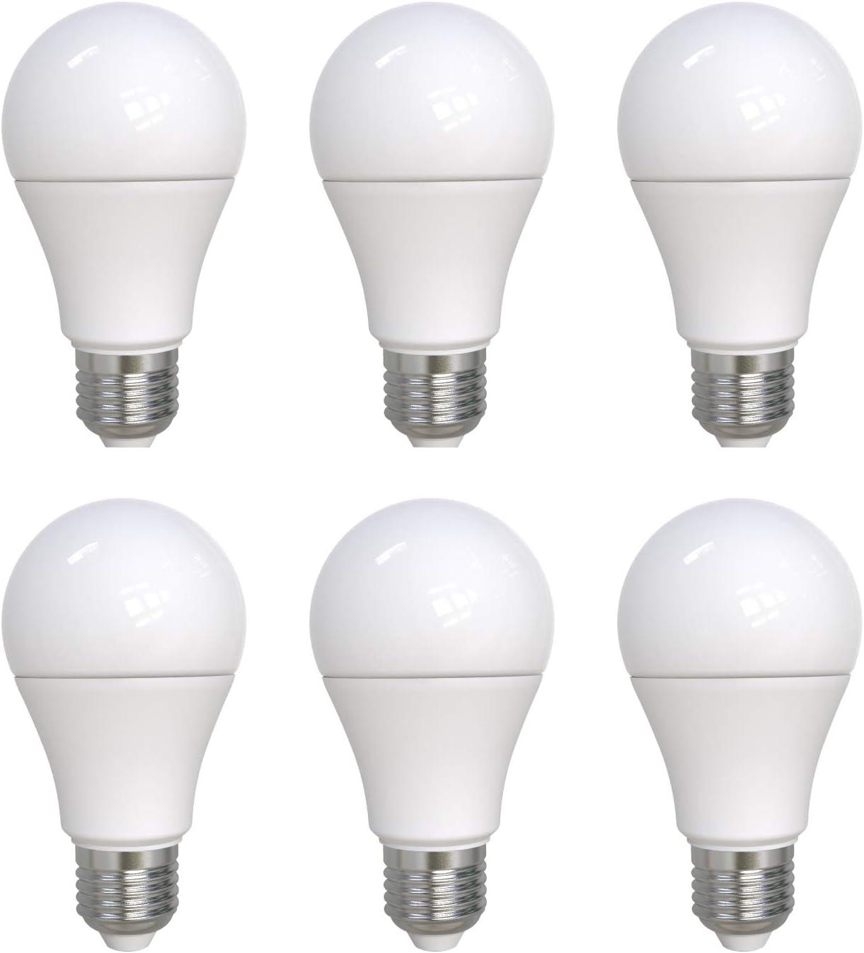 Umi by Amazon - Bombilla LED A60 con casquillo Edison E27, 10 W ...