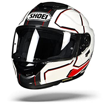 Shoei GT Air Full Face casco de moto péndulo TC 10 gris/rojo