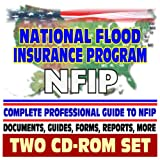 National Flood Insurance Program (NFIP), Complete Library of FEMA Documents, Homeowner and Builder Guides, Floodplains, Mapping, Agent Information, Mitigation, Manuals (Two CD-ROM Set)