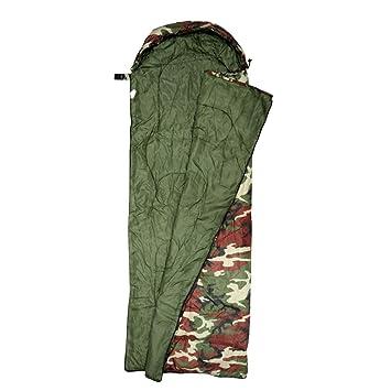 Baoblaze 1 x Saco de Dormir con Bolsa de Transporte Accesorio de Deportes Al Aire Libre - Hood-Army Verde: Amazon.es: Deportes y aire libre