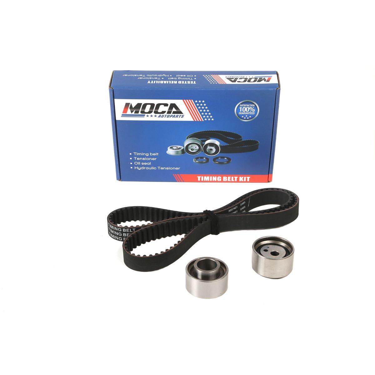 Moca Timing Belt Kit With Tensioner Fit 98 04 Kia Spectra 01 1999 Sportage Sephia