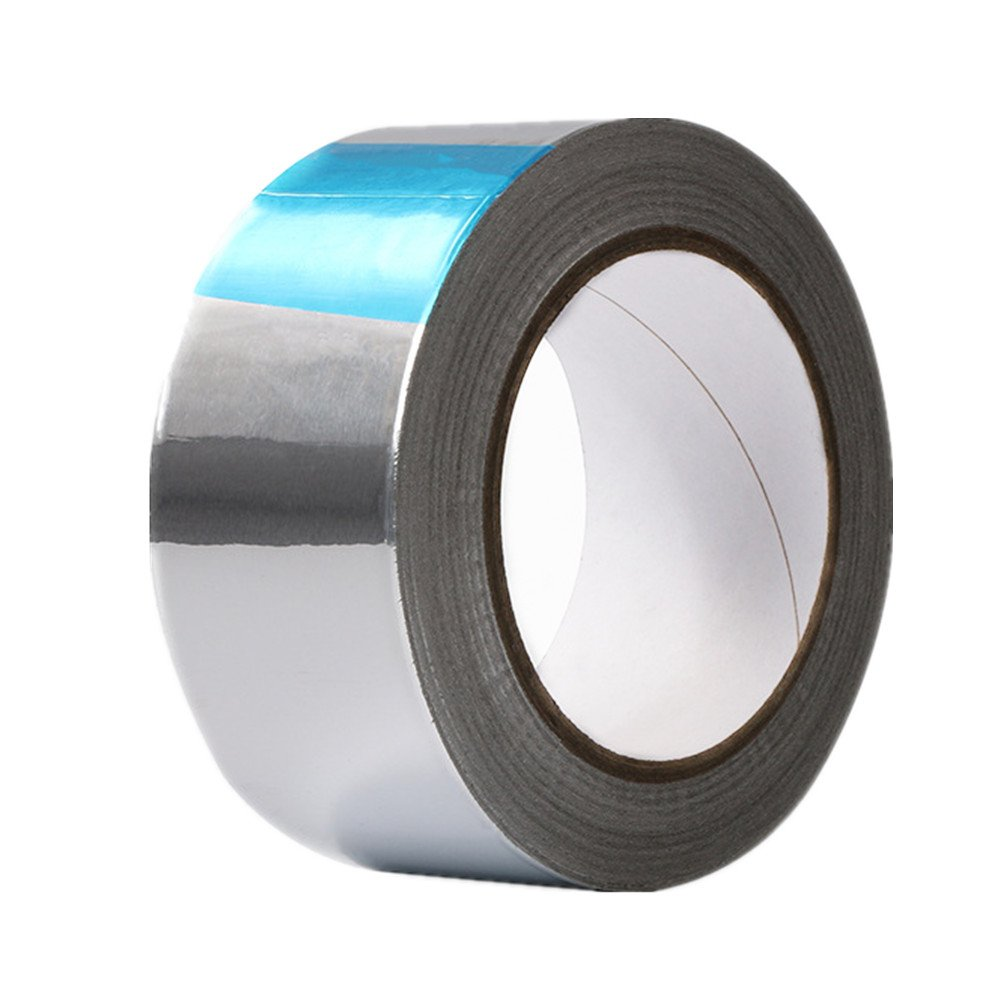 Aluminum Foil Sealing Tape Heat Shield Adhesive Thermal Resist Duct Repairs Tool Fit for HVAC,Ducts,Insulation