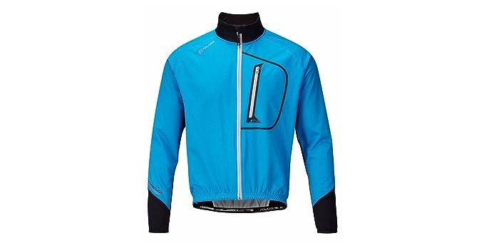 Polaris Am Enduro Softshell cortaviento Chaqueta Ciclismo Azul/Negro Grande
