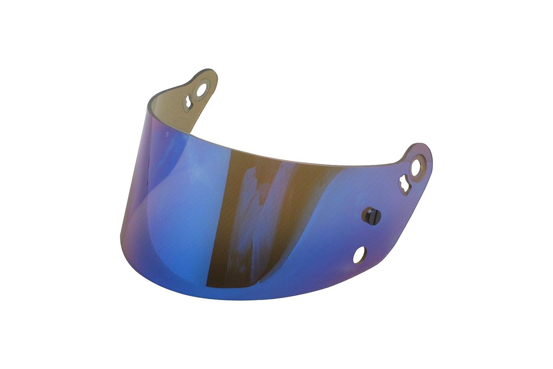 Bell 2001768 276 SRV Style Blue Chrome Helmet Shield