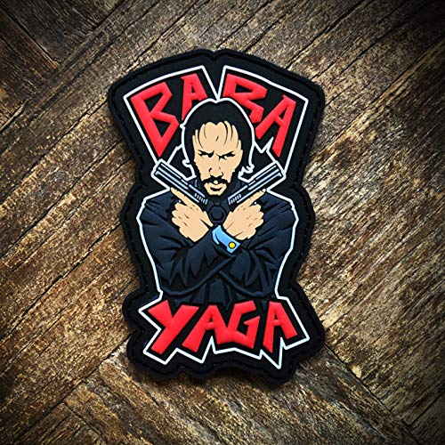 John Wick Baba Yaga PVC Morale Patch - Hook Backed by NEO Tactical