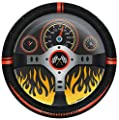 "Racecar Racing Party Supplies 9"" Paper Dinner Plate (8)"