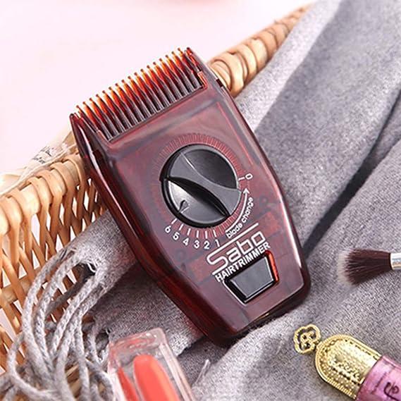 Amazon.com: Tharv❤ Mini cortador de pelo portátil de viaje ...
