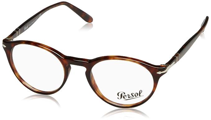 52b8748e633 Persol Men s Eyeglasses 3092V 3092 V 9015 Havana Full Rim Optical ...