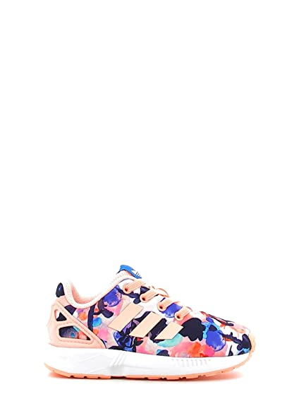 abbe5a95cea8 adidas Girls Originals Infant Girls ZX Flux EL Trainers in Pink Black - 4  Infant
