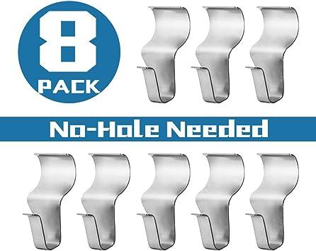 Vinyl Siding Hooks for Hanging Heavy Duty Light Mailbox Planter Hanger 8 Pack