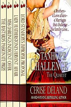 The Stanhope Challenge: A Regency Quartet by [DeLand, Cerise]