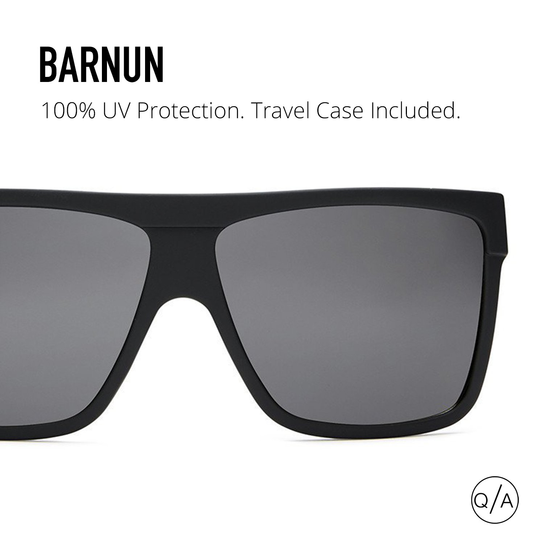 294d44a09aa Quay Eyewear Men s BARNUN Sunglasses
