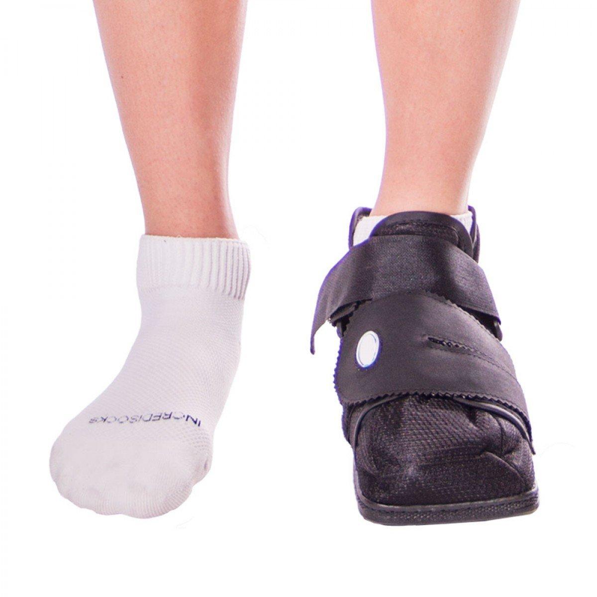 Closed toe medical walking shoe foot protection boot - Amazon Com Braceability Closed Toe Medical Walking Shoe Protection Boot S Health Personal Care