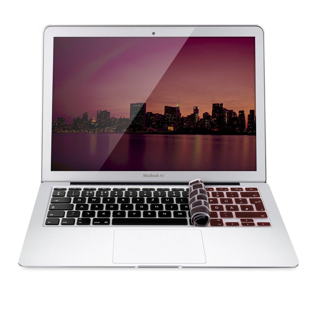 kwmobile Protector de Teclado Apple MacBook Air 13/ Pro Retina 13/ 15 (de Mediados del 2016): Amazon.es: Electrónica