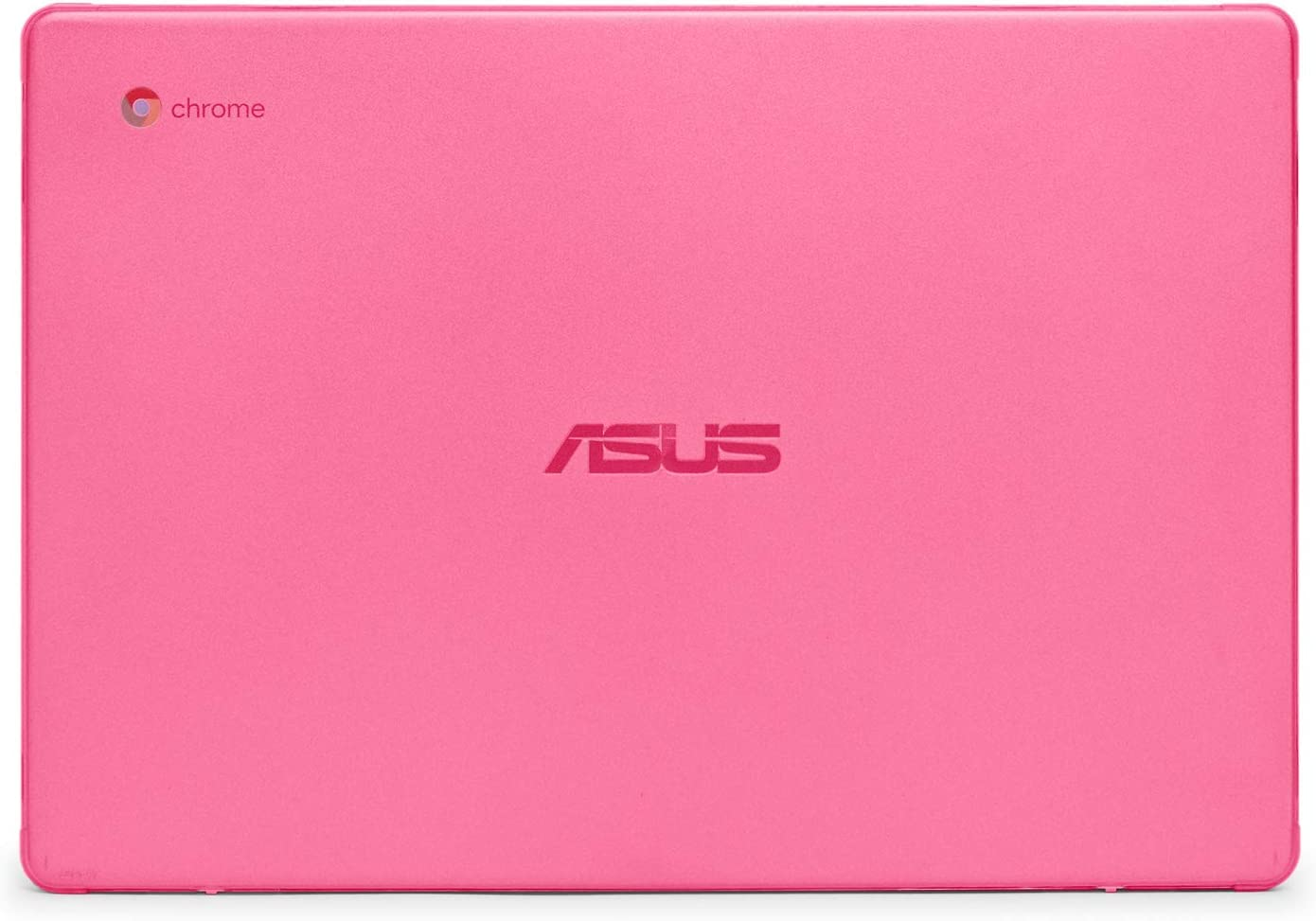 mCover Hard Shell Case for 2019 14-inch ASUS Chromebook C423NA Series Laptop - ASUS C423 Pink