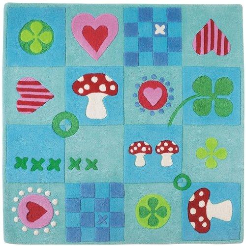 Kinderteppich haba  Haba 8152 - Teppich Kleines Glück: Amazon.de: Spielzeug