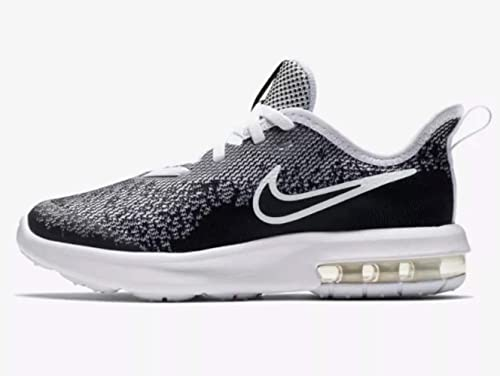 new product d4a4f 9ccdd Nike Air Max Sequent 4 (ps) Little Kids Aq3579-001 Size 13.5 Black