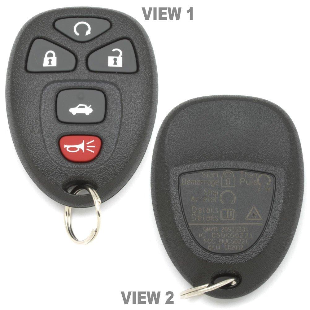 Impala 2006 chevy impala key fob : Amazon.com: Gm 20935331 Key Fob Transmitter Oem 5-Button: Automotive
