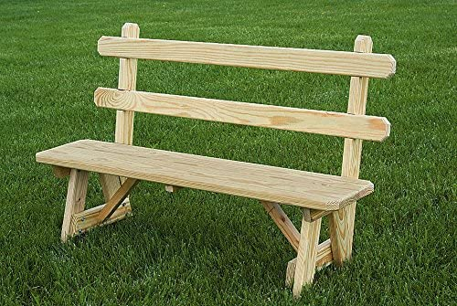 Pressure Treated Pine 42″ Traditional Picnic Bench