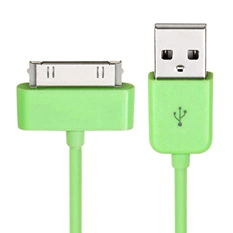 3 PCS USB SYNC DATA POWER CHARGER CABLE IPAD IPHONE IPOD CLASSIC TOUCH NANO BLUE