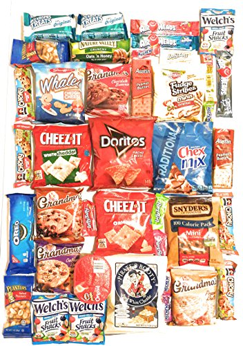 Ultimate Survival Kits Snack Care Package for College Students, Military, Friends (Ultimate Sweet n Salty) (Meat Package)