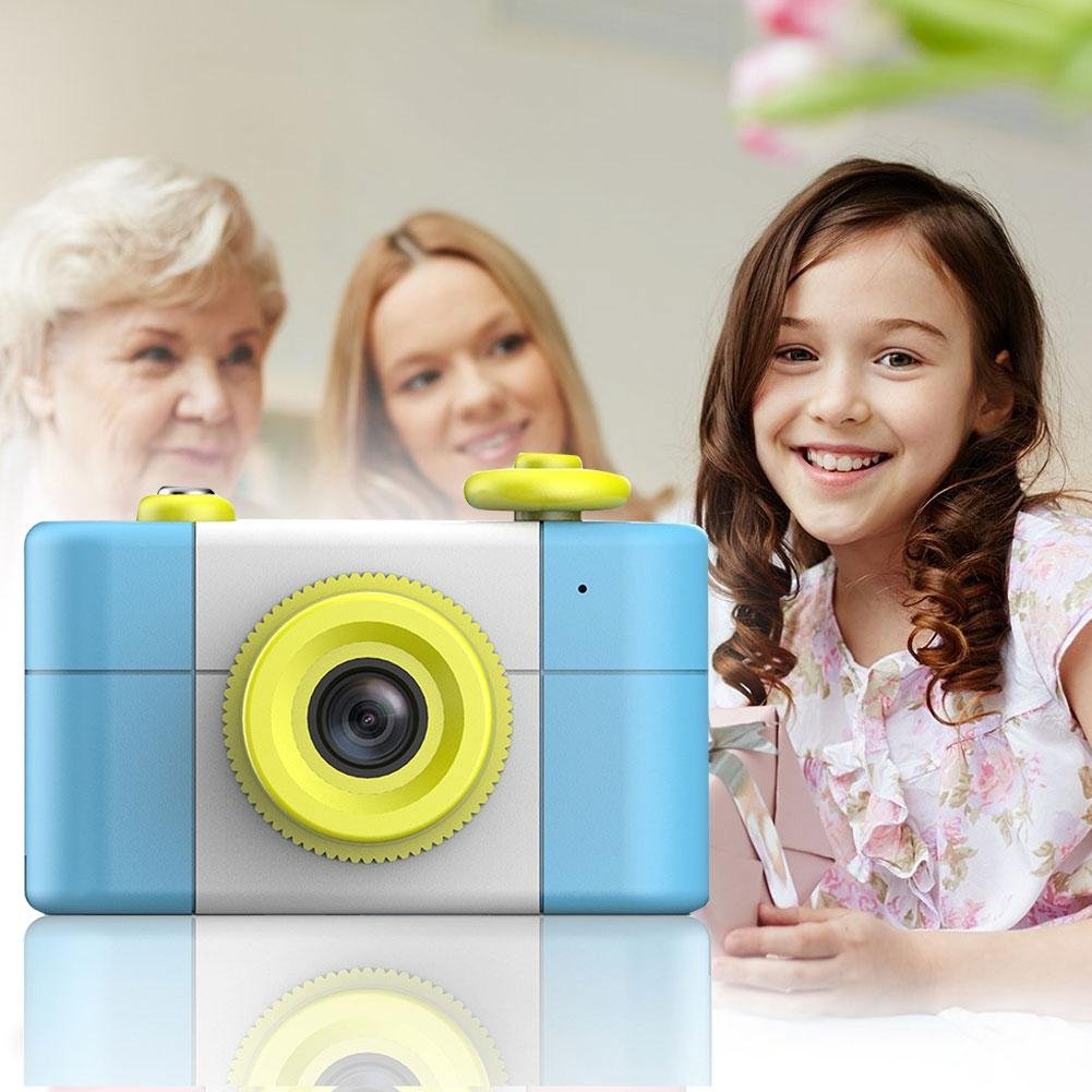 Electronics for Kids ZHUOTOP Mini Digital Camera LCD Video Recorder Take Photo Toy for Children Kids Gift Pink