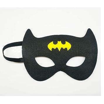 Formwin 30 unidades de máscaras de Batman para niños ...