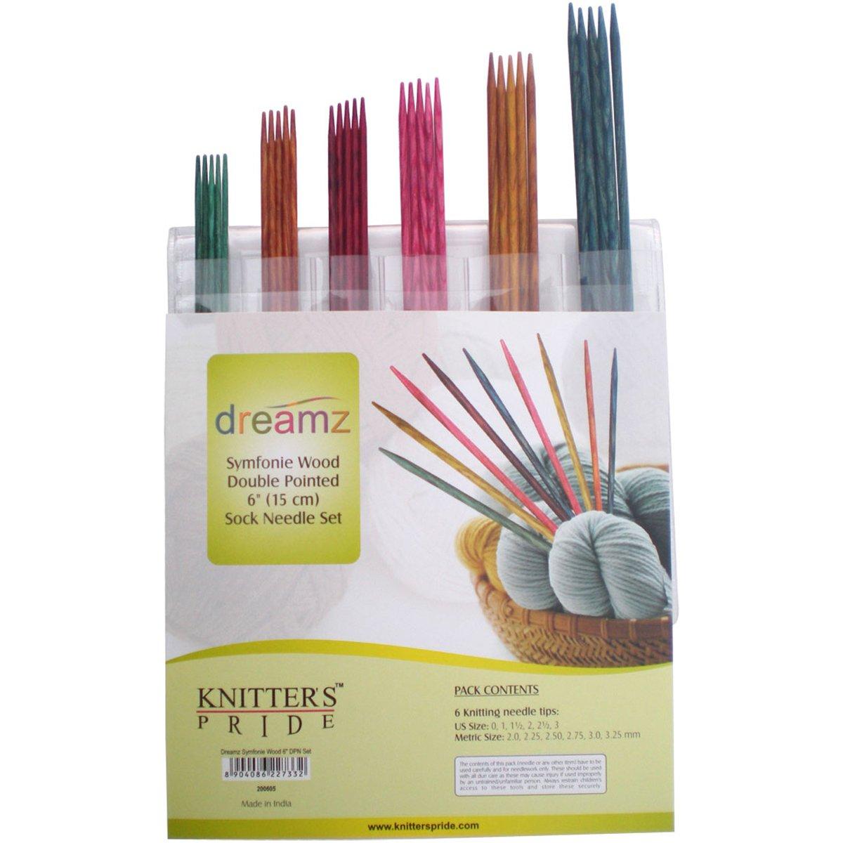 Knitter's Pride Dreamz Strumpfstricknadel Nadeln Set 6
