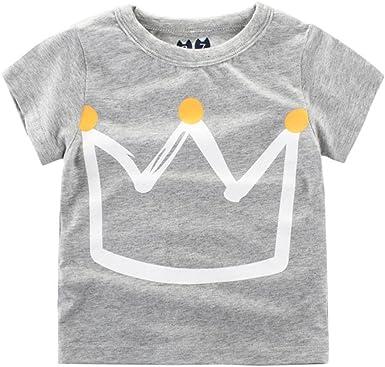 Logobeing Ropa Bebe Verano 2-7 Años Niño Camiseta de Dibujos ...