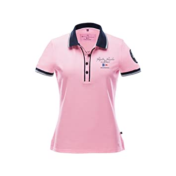 4aa29a2e72fe Marinepool RR Cruising Poloshirt Damen Rosa  Amazon.de  Sport   Freizeit