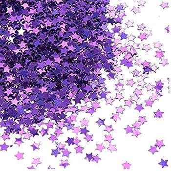 "North Star Sequin 1.5/"" Silver Hologram Glitter Sparkle Metallic Paillettes"