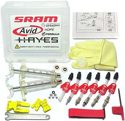 West Biking Professional Hydraulic Disc Brake Bleed Kit for All DOT Code5 Cod...