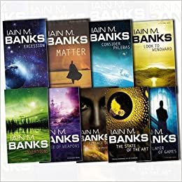 Iain M Banks Collection Culture Series 9 Books Bundle (Surface ...
