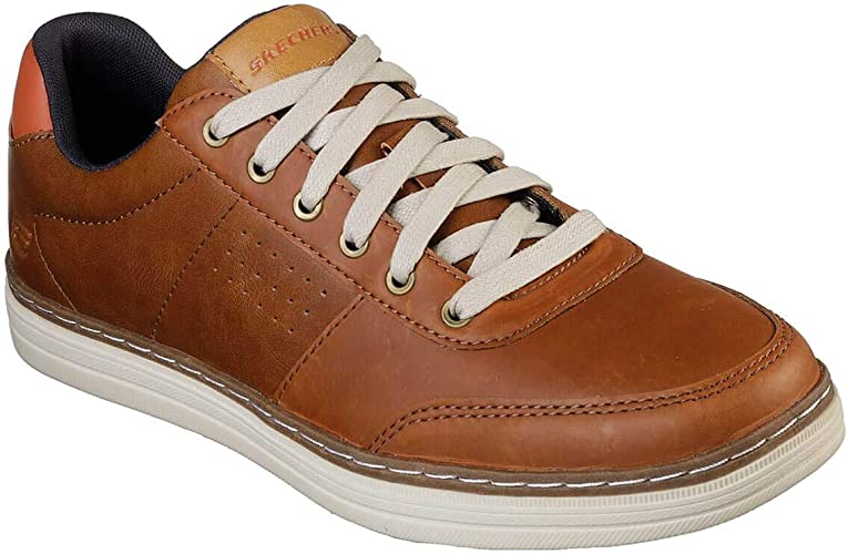 Skechers, Sneaker Uomo, Marrone (Luggage), 46 EU: Amazon.it