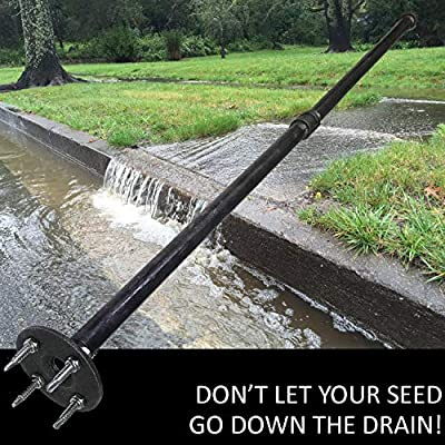Keyfit Tools Seed SPIKER Dog Spot & Bare Spot Seeding Tool. Get The Most Seed Germination Works with All Types of Seed & Patch Scotts EZ Seed Repairs Dead Spots Dog Damage Lawn Turf & Grass Repair