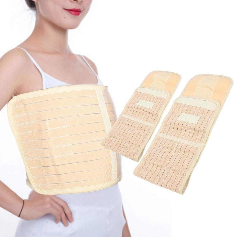 Yinhing Cinturón de Costilla, Refuerzo de Costilla elástico ensanchado para recuperación de tensión de Fractura Muscular Protector de Refuerzo de Costilla