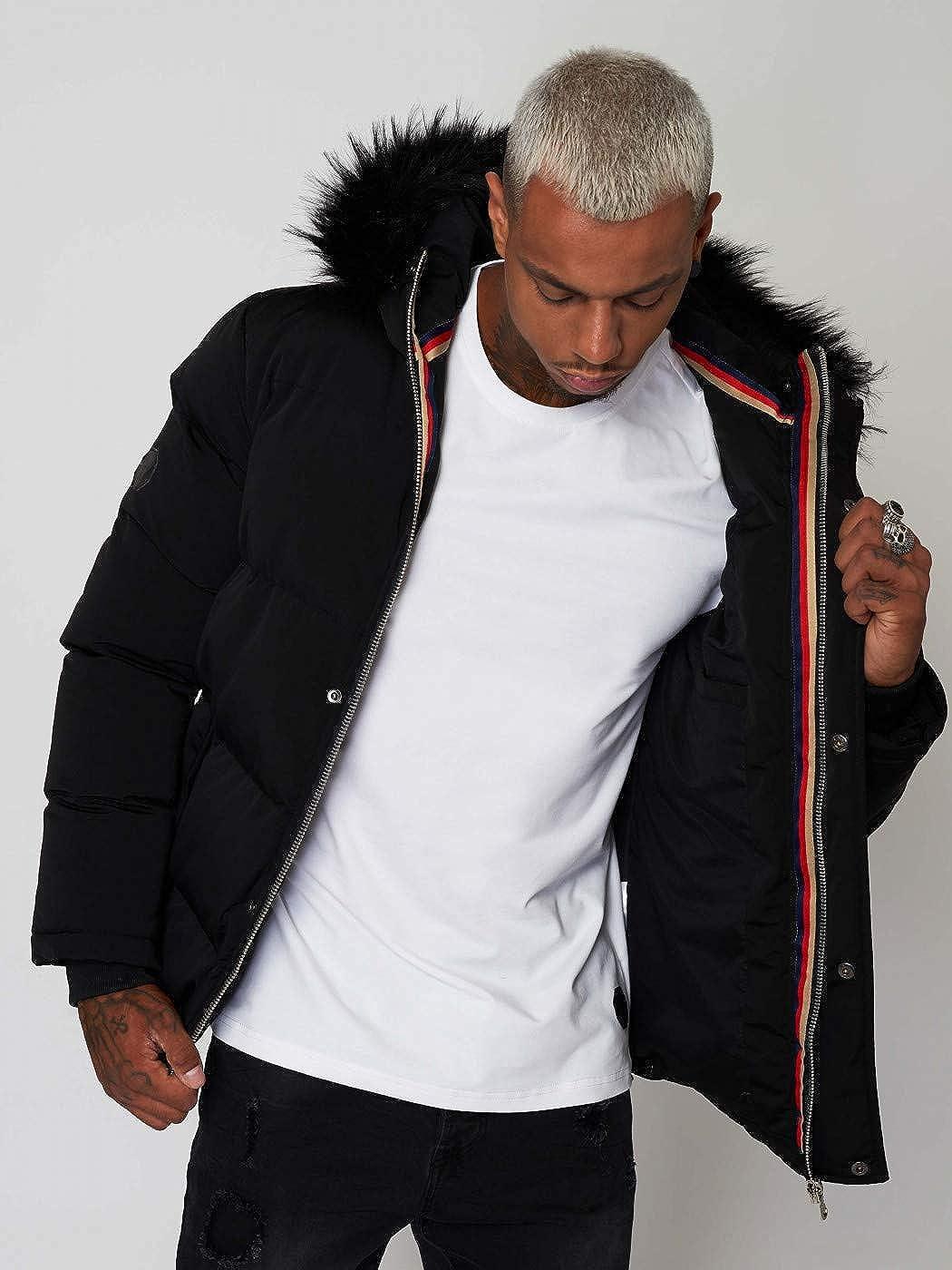 d9533d104 Amazon.com: Project X Paris Puffer Jacket with Tricolor Inner ...