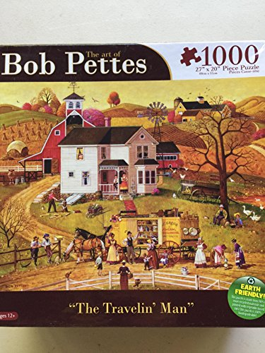 Bob Pettes - The Travelin Man - 1000 Pc Puzzle by Karmin (Puzzle Bob Pettes Karmin)