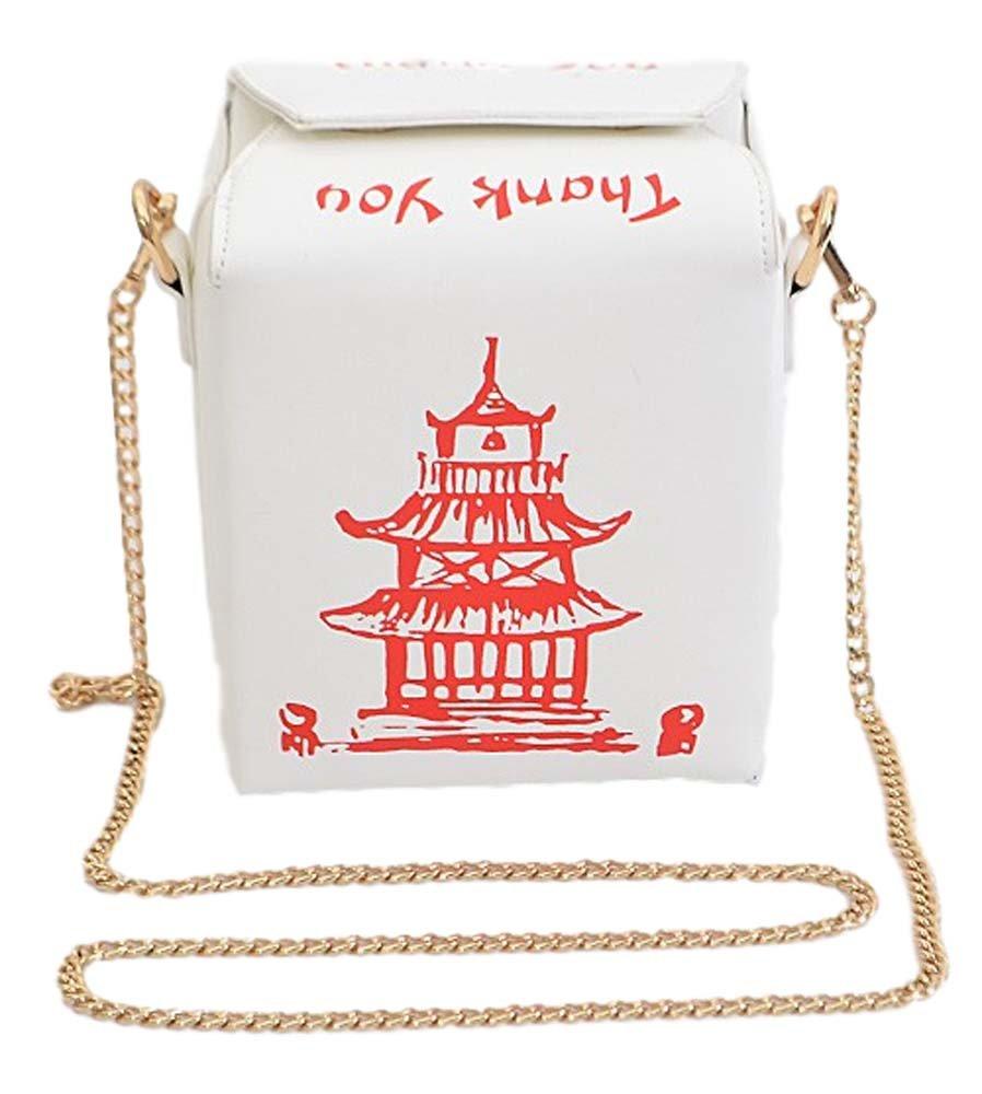 Chinese Take Out Clutch Shoulder Bag Crossbody Purse White Shanghai Gold Mini Black Handbags