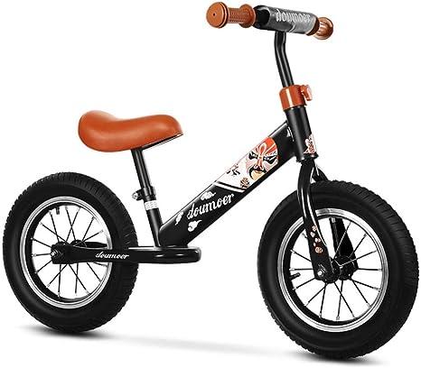 Impulsor Bicicleta para niños y niñas Bicicleta de Equilibrio para ...