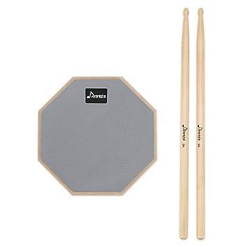 """für Stativ M8 Superleises 8/"""" Übungs Pad Practice Pad für Schlagzeug Trommel"""