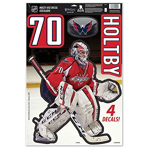 WinCraft Washington Capitals Official NHL 11'' x 17'' Decal 11x17 Sticker Cling 096944 by WinCraft